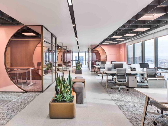 Woven Tiles vs. Office Floor Tiles