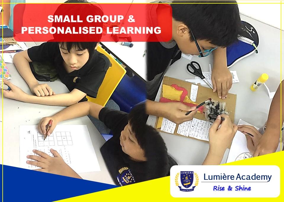 全方位剑桥教育课程就在Lumiere Academy 学习中心