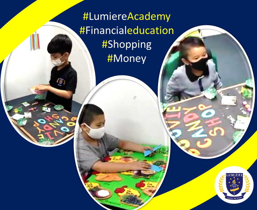 Holistic Cambridge education at Lumiere Academy Homeschool Centre includes financial education for students as young as grade 1